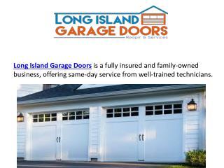 Garage Door Service New York