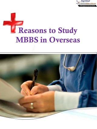 Reasons to Study MBBS in Overseas