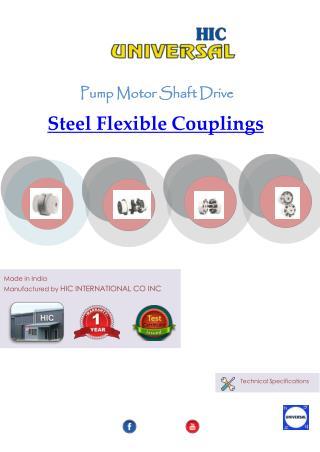 Steel flexible couplings