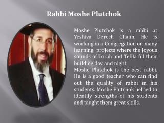 Moshe Plutchok