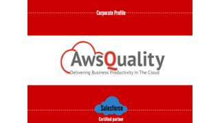Awsquality for salesforce consulting and appexchange services