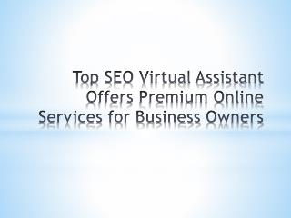 Top SEO Virtual Assistant Offers Premium Online Services for Business Owners