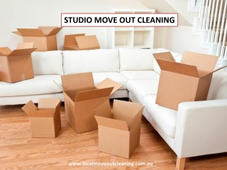 Studio Move Out Cleaning