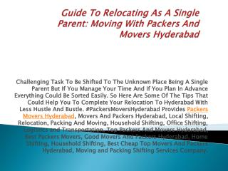 hyderadad single parents With changing times, single mothers and fathers seem to enjoy their time and bond with their children better.