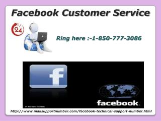 how to recovery back Facebook Customer Service 1-850-777-3086