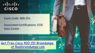 Download Cisco 400-151 Braindumps | Realbraindumps