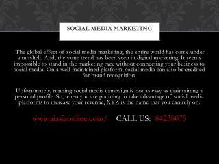 Social Media Marketing Companies, Facebook Digital Marketing Singapore