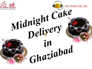 Online cake and Flowers Delivery in Ghaziabad at Midnight
