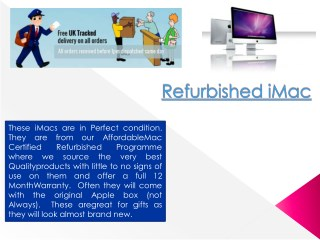Refurbished iMac