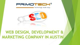 Web Design, Development & Marketing Company in Austin