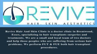 Revive Best Hair Transplant Clinic in Essex, United Kingdom