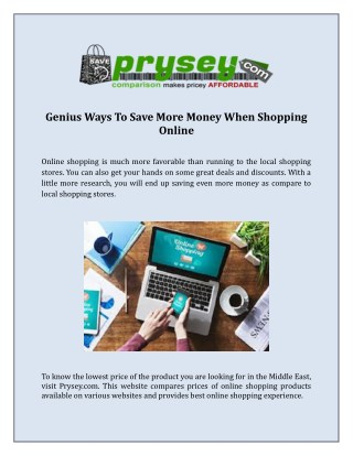 Cheap Online Shopping Sites in Dubai - Prysey