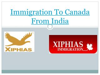 About Immigration To Canada From India