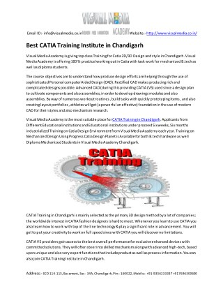 Caita Training in Chandigarh
