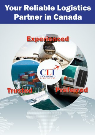 Canworld Logistics INC: Domestic Logistics Services in canada