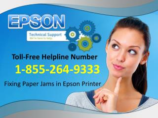 How To Fix Paper Jams In Epson Printer
