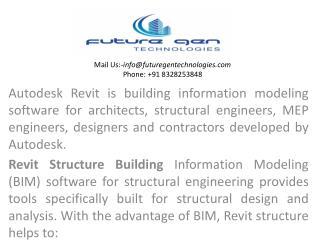 Revit structure training in hyderabad