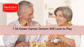 7 Sit-Down Games Seniors Will Love to Play