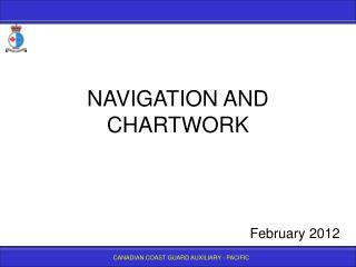 NAVIGATION AND CHARTWORK