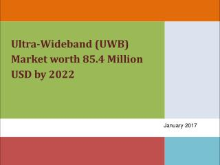 Ultra-Wideband (UWB) Market by Application RTLS/WSN, Imaging) - 2022 | MarketsandMarkets
