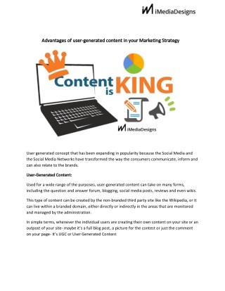 Marketing strategy content imediadesign