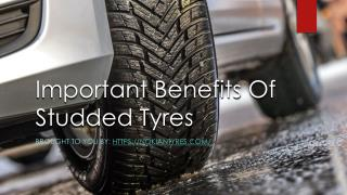 Important Benefits Of Studded Tyres