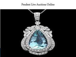 Pendent Live Auctions Online