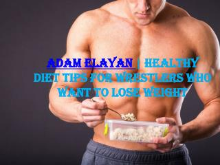 Healthy Diet Tips For Wrestlers Who Want to Lose Weight