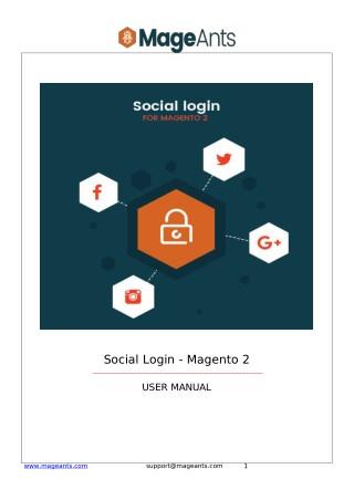 Magento 2 Social Login