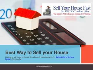 Best Way To Sell Your House