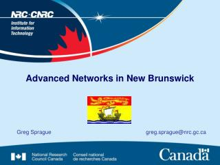 Advanced Networks in New Brunswick