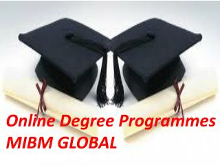 Advantages to say and Online Degree Programmes
