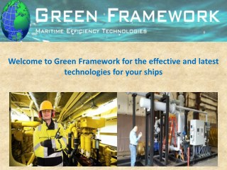 Go green, use green shipping technology