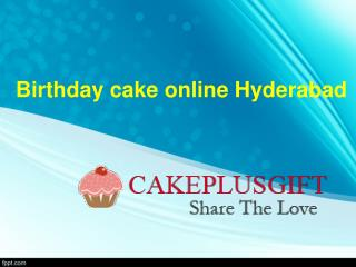 Birthday cake online Hyderabad | Buy cakes online Hyderabad