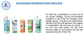 Environment Protection for All from Tetra Pak