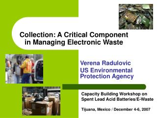 Collection: A Critical Component in Managing Electronic Waste