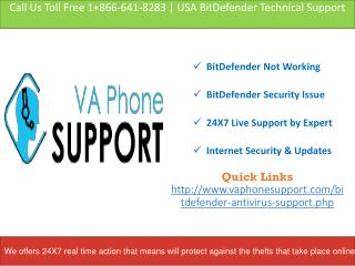 Bitdefender Technical Support Phone Number