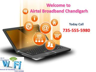 Airtel Broadband Services in Panchkula