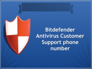 Bitdefender Antivirus Customer Service Phone Number | Tech Support