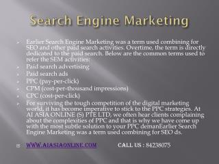SEO Consultants, SEO specialist in Singapore, SEO Analyst, Search Engine Marketing