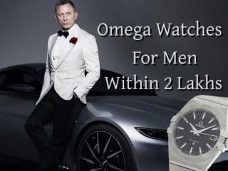 Omega Watches for Men Within 2 Lakhs