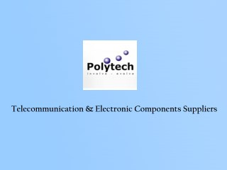 Electronic Components Suppliers