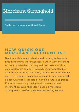 Payment Processing Method
