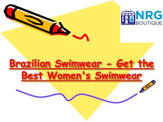 Get the Best Women's Swimwear - Brazilian Swimwear