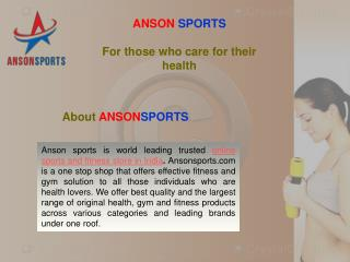 home gym packages in India  -  Anson sports