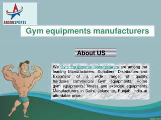 Approach for the right and affordable home gym equipments manufacturer