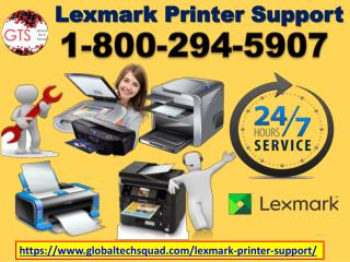 Support For lexmark Printer Number 1-800-294-5907