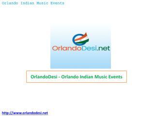 OrlandoDesi – Orlando Indian Music Events