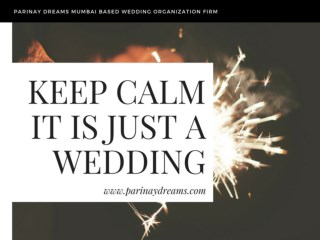 Parinay dreams mumbai based wedding organization Firm