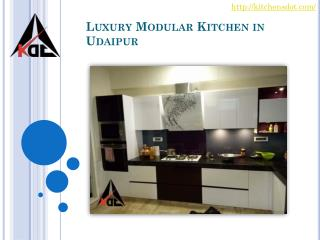 Luxury Modular Kitchen in Udaipur